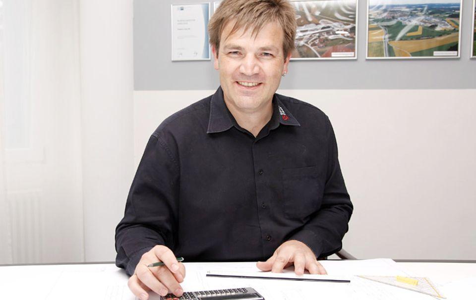 Der Leiter der Konstruktionsabteilung