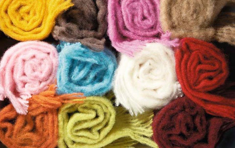 Wolldecke – kleine Stoffkunde