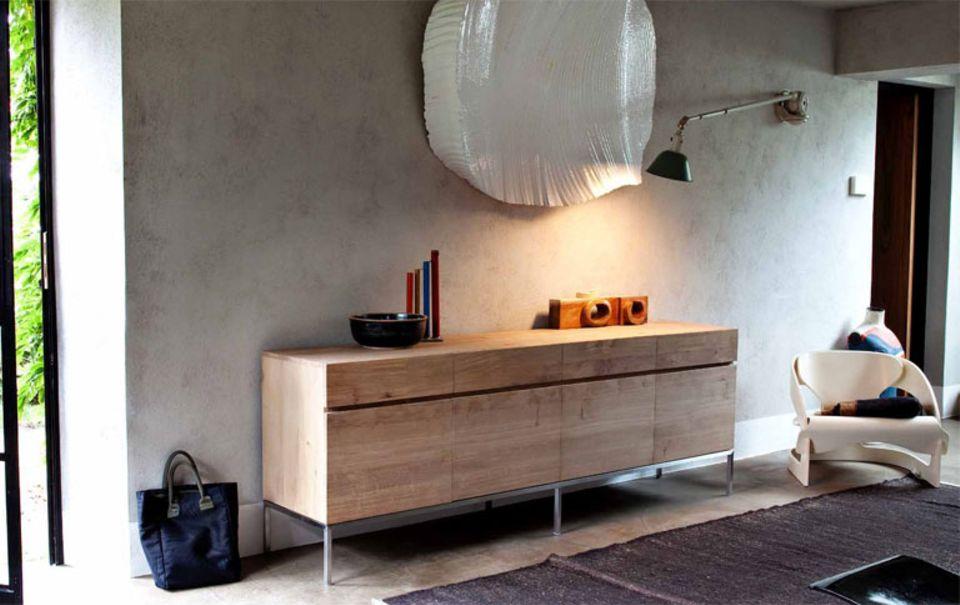 """Sideboard """"Ligna"""" von Ethnicraft ist aus nachhaltig produziertem Holz."""
