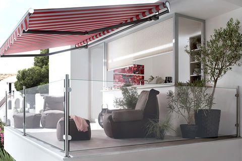 Ideen für Balkonverkleidung und Terrassensichtschutz