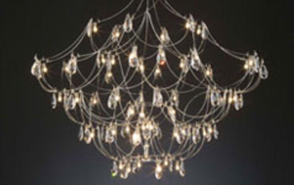 Kronleuchter – luxuriöses Designobjekt
