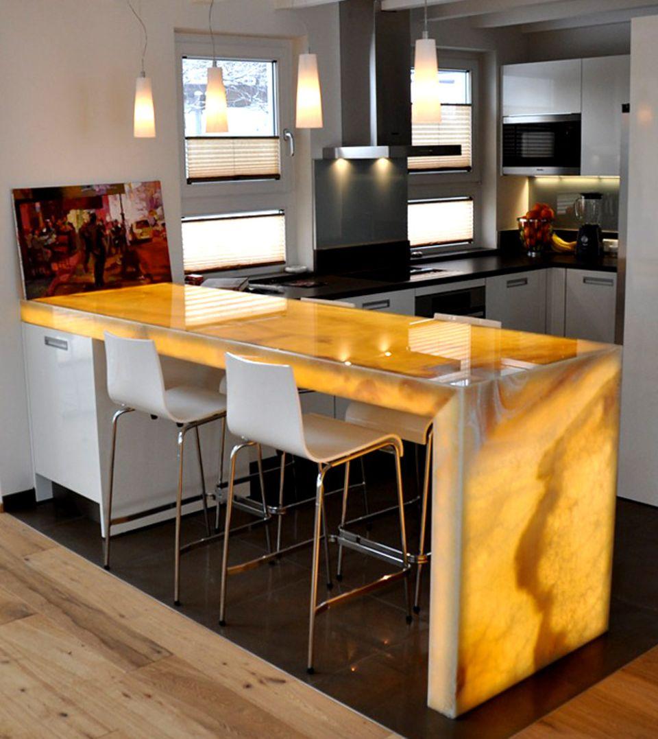 Möbel mit LED-Beleuchtung