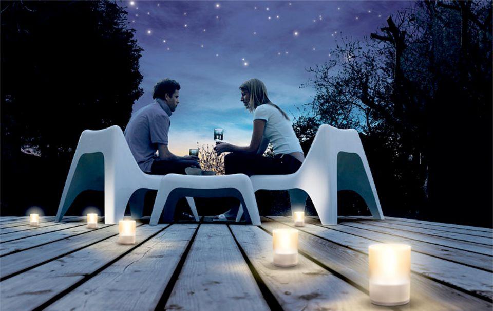 """LED-Windlichter """"Imageo"""" von Philips"""