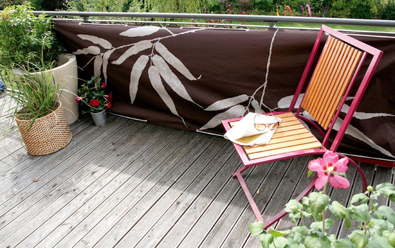 Balkonverkleidung von Videx: individueller Sichtschutz für den Balkon