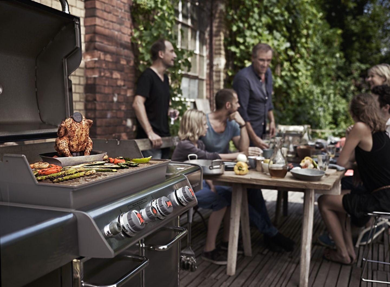Das Kochen nach draußen verlagern