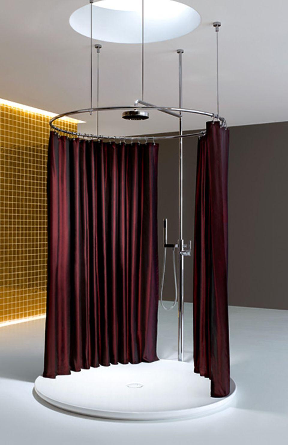 Duschvorhang – flexible Lösung für Badewanne & Dusche   [SCHÖNER ...
