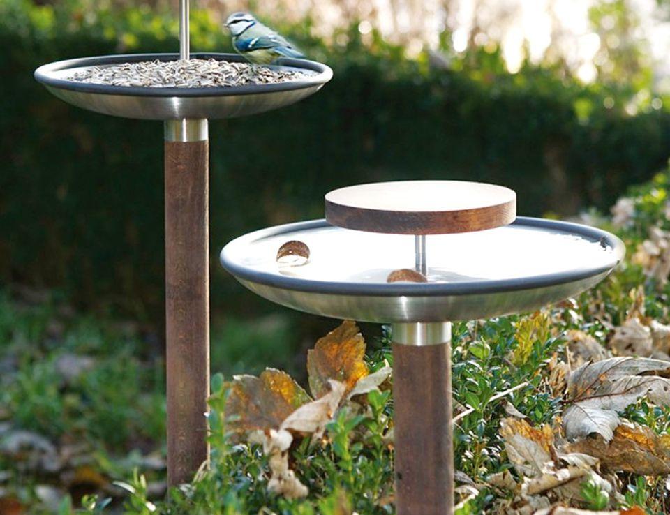 """Elegant: Design-Vogeltränke """"Fuera"""" von Blomus"""