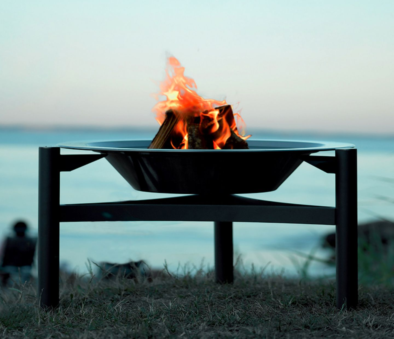 """Feuerschale und Grill in einem: """"Dancook 9000"""""""