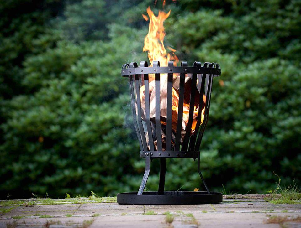 Feuerkorb von Torquato aus pulverbeschichtetem Stahl