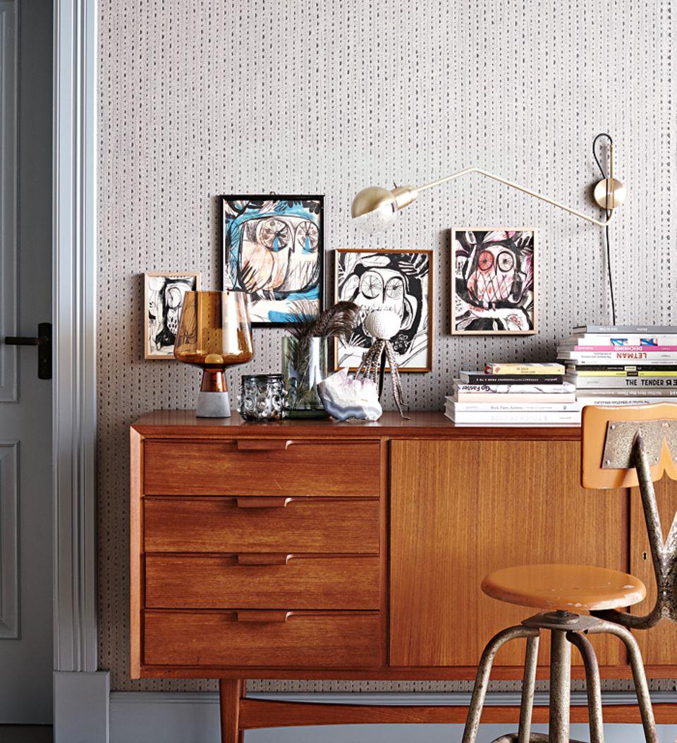 Wie man ein Sideboard dekoriert