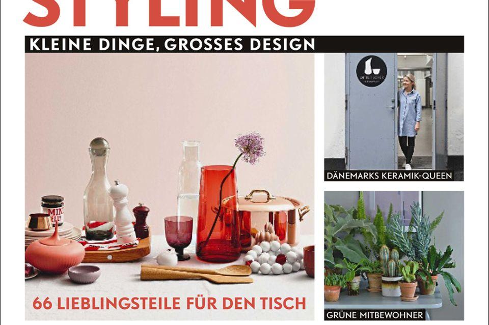 SCHÖNER WOHNEN STYLING: 148 Seiten schöne Wohnaccessoires. Preis: 5,80 Euro. Ab 03. Juni im Handel.