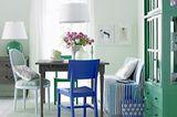Farbenfroh im skandinavischen Stil
