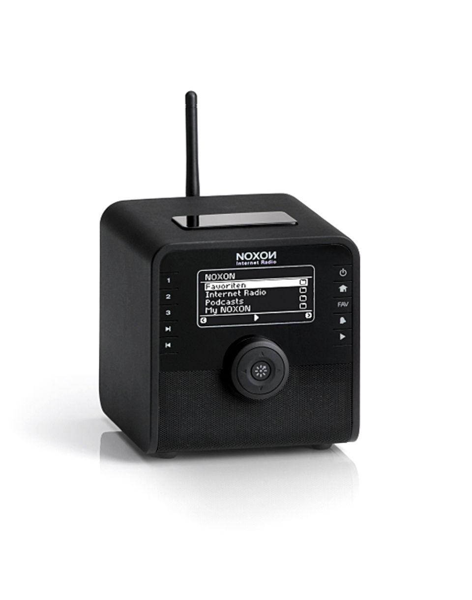 Internetradio in klein, schwarz, gut
