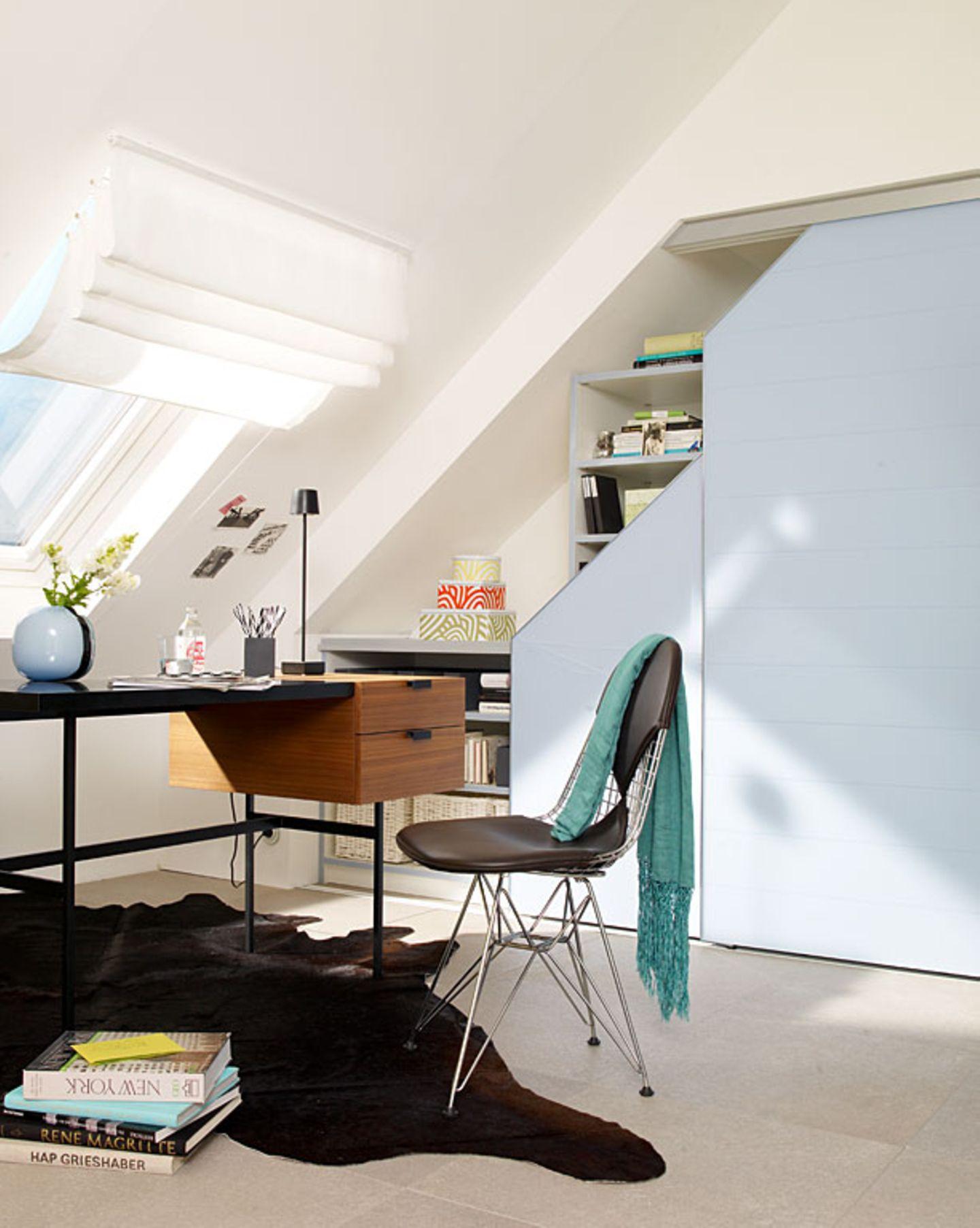 Filigrane Möbel vergrößern den Raum