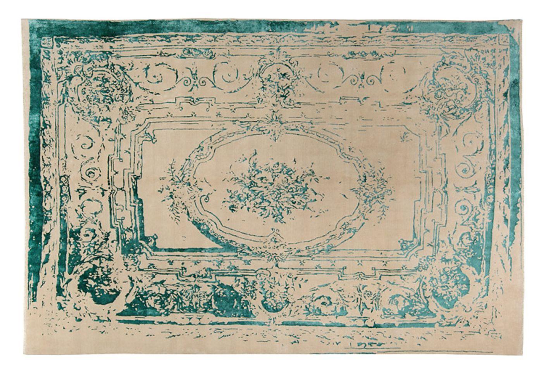 """Moderner Perser: """"Frenchie Turquoise"""" von Hossein Rezvani - Bild 64"""
