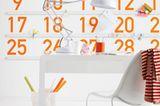 """Wandtattoo als Kalender: """"W028"""" von Silbensalon"""
