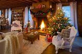 Weihnachten mit Kamin
