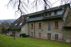 Ehemalige Mühle vor dem Dachausbau