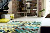Teppich mit Mosaikmuster