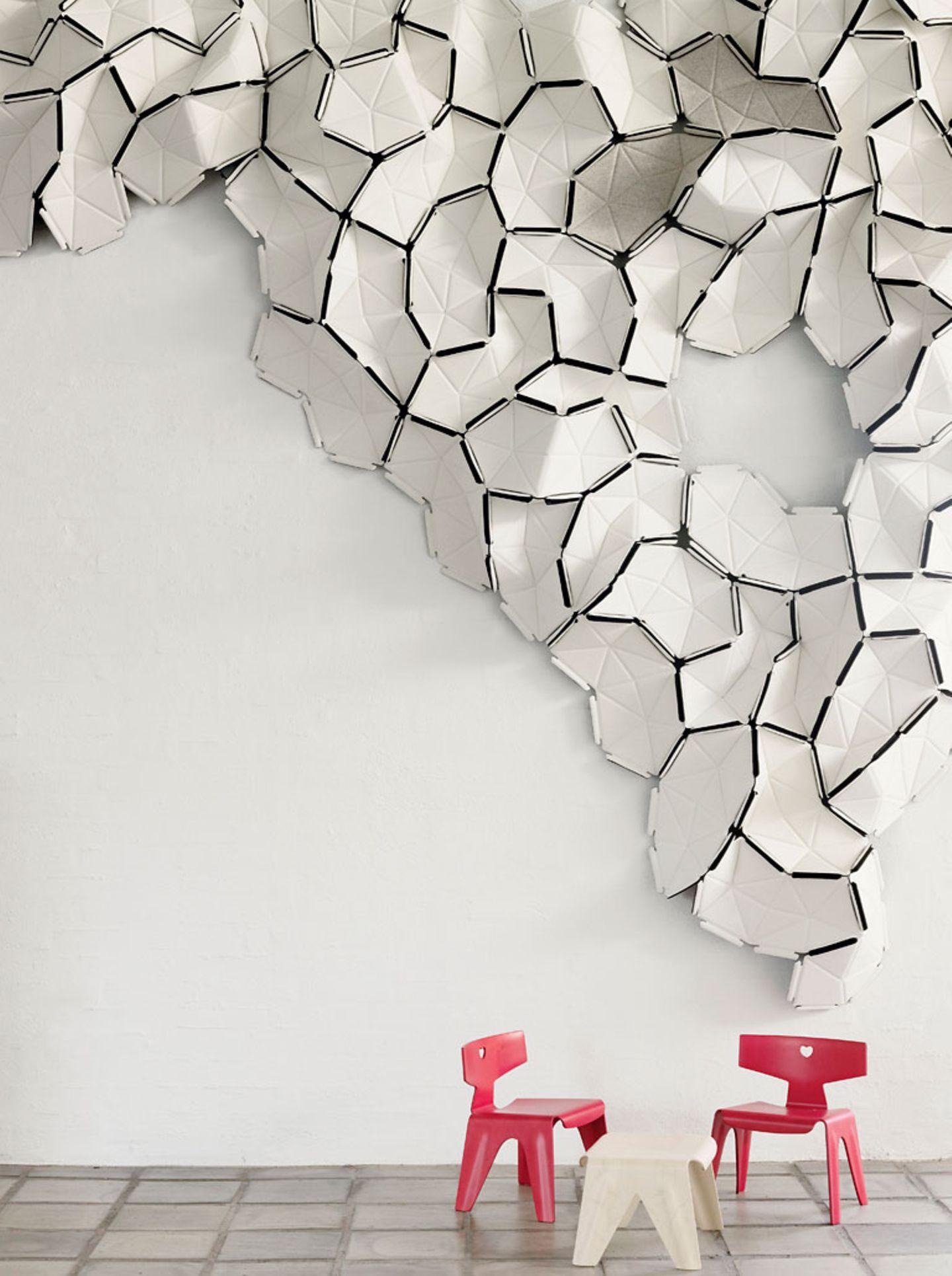 """Warmer Filz: Wandverkleidung """"Clouds"""" von Kvadrat - Bild 4"""
