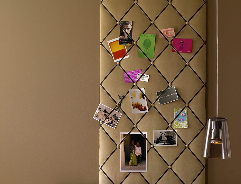 DIY-Projekt: Pinnwand mit Samtstoff - Bild 6