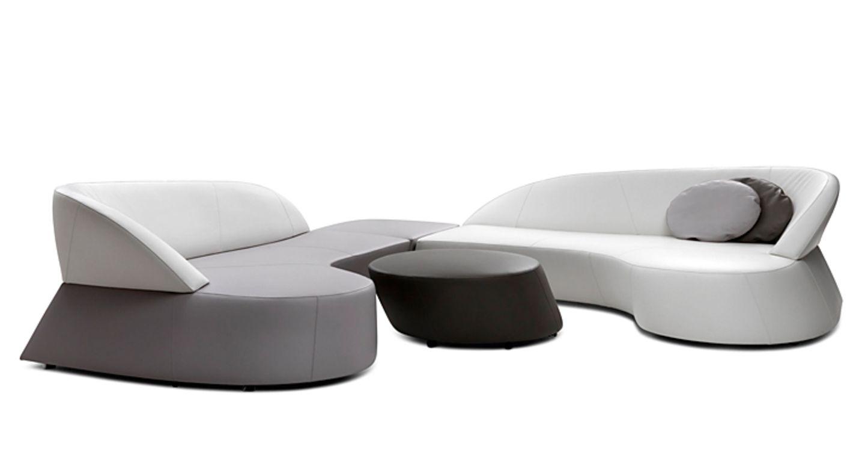 "Extravagante Form: Leolux-Sofa ""Morena Design"""