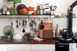 Habitat-Küche mit Deko-Idee