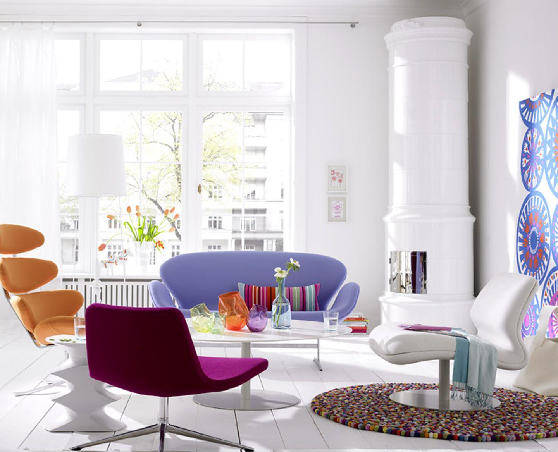 Farben aus einer Farbskala wählen - das wirkt harmonisch