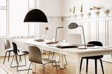 Home-Office mit Wohn-Möbeln