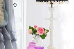 Tischleuchte mit Pailletten von Tine K Home