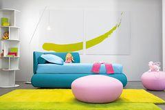 """Kinderbett """"Bonaldo"""" mit integriertem Gästebett"""