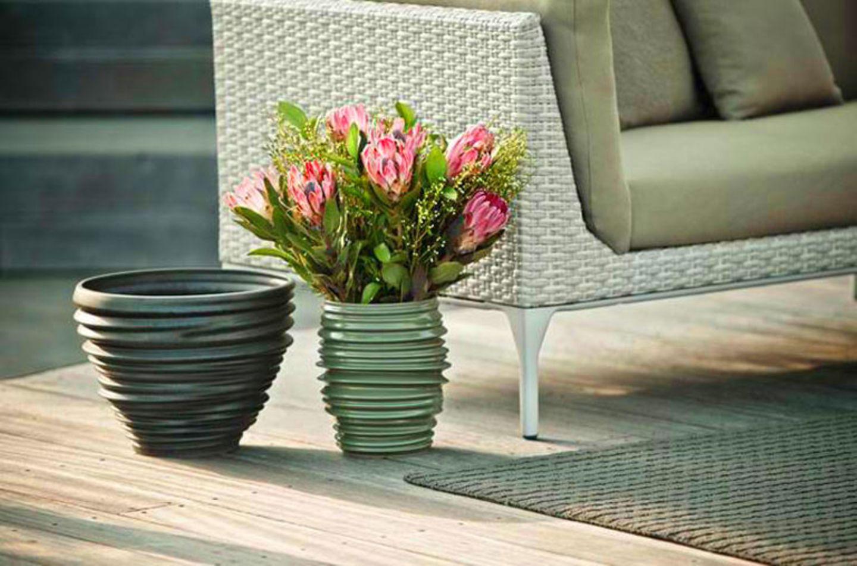 """Outdoor-Vasen """"Babylon"""" von Dedon"""