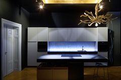 Design-Küche von LG Hausys