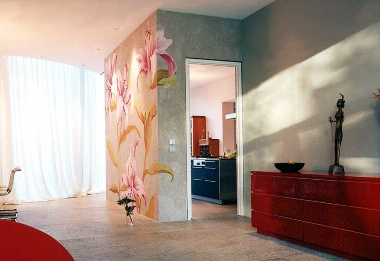 Wandmalerei als Tapete