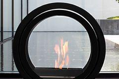 """Bioethanol-Kamin """"Roll Fire"""" von Conmoto"""