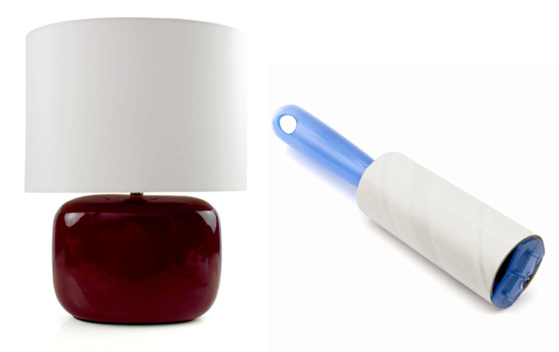 Kleiderbürste säubert Lampenschirme - Bild 5