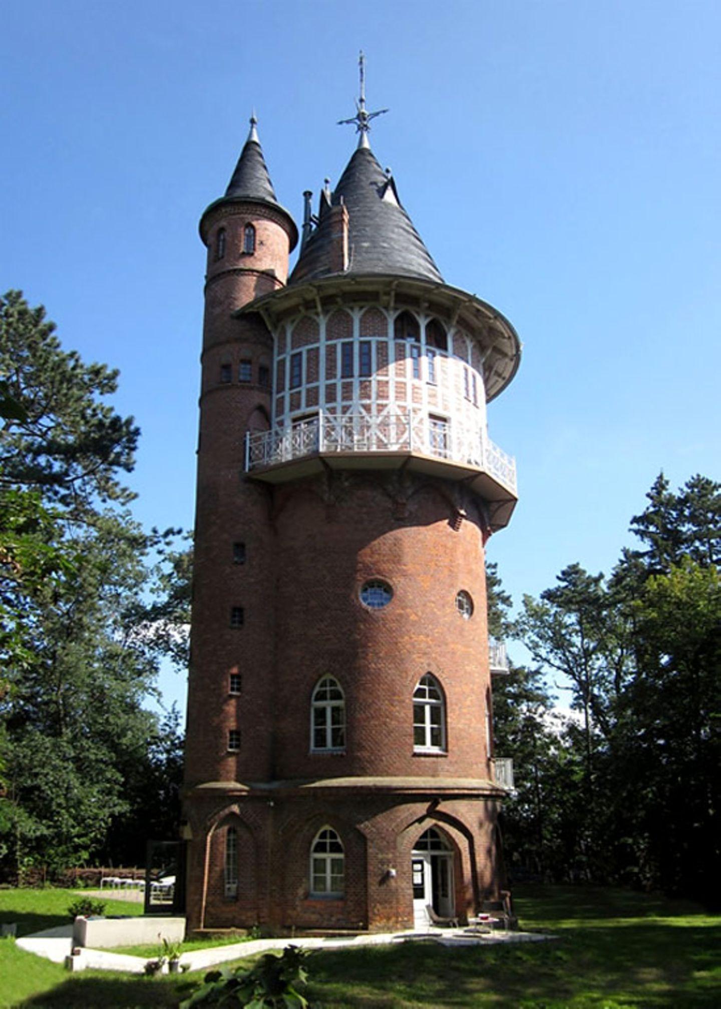 """Wohnen wie Rapunzel: """"Wasserturm"""" in Waren/Müritz"""