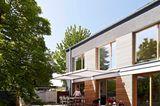 Terrasse zum großzügigen Garten