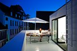 Dachterrasse in der Stadt