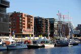 Neue Stadt am Wasser: die HafenCity