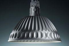 "Moderner Klassiker: Industrieleuchte ""Pudding"" von Fontana Arte"