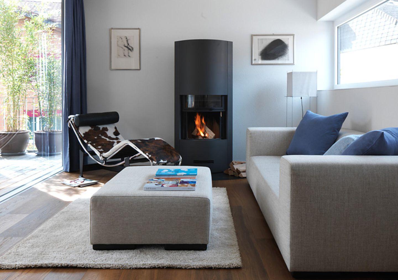 Wohnzimmer mit dezentem Farbkonzept