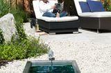 Kleiner Garten ideal genutzt