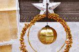 Weihnachtskranz mit Datteln