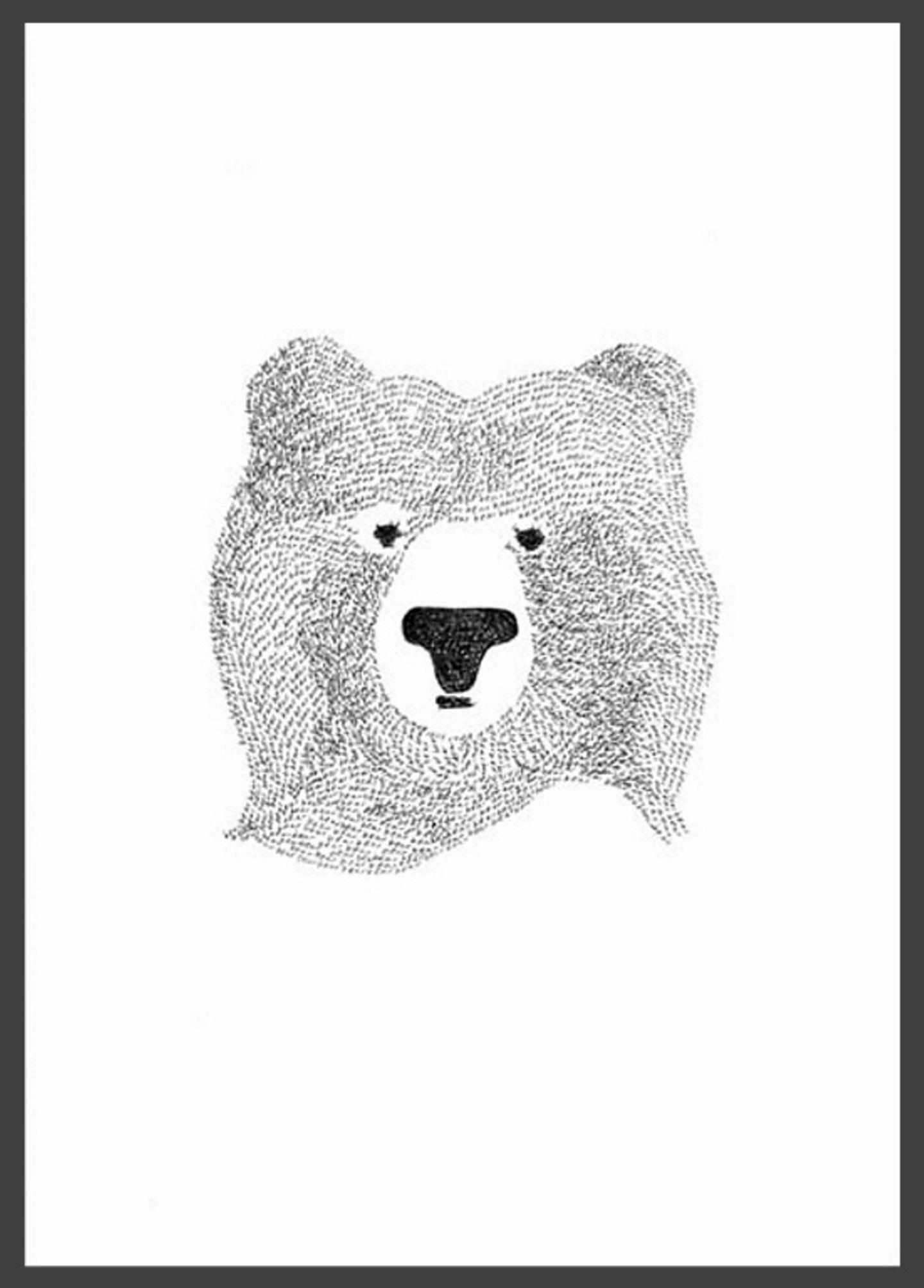 """Meister Petz: """"Black Bear"""" von Shak Shuka"""