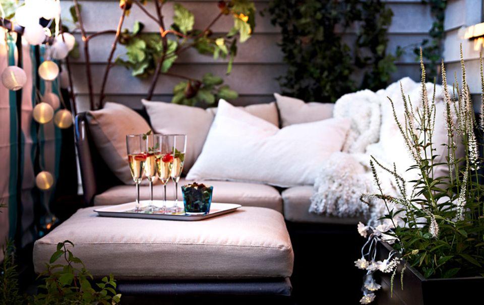 "Outdoor-Lounge: Sitzgruppe ""Garpen"""