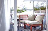 Eine Mini-Lounge für zwei