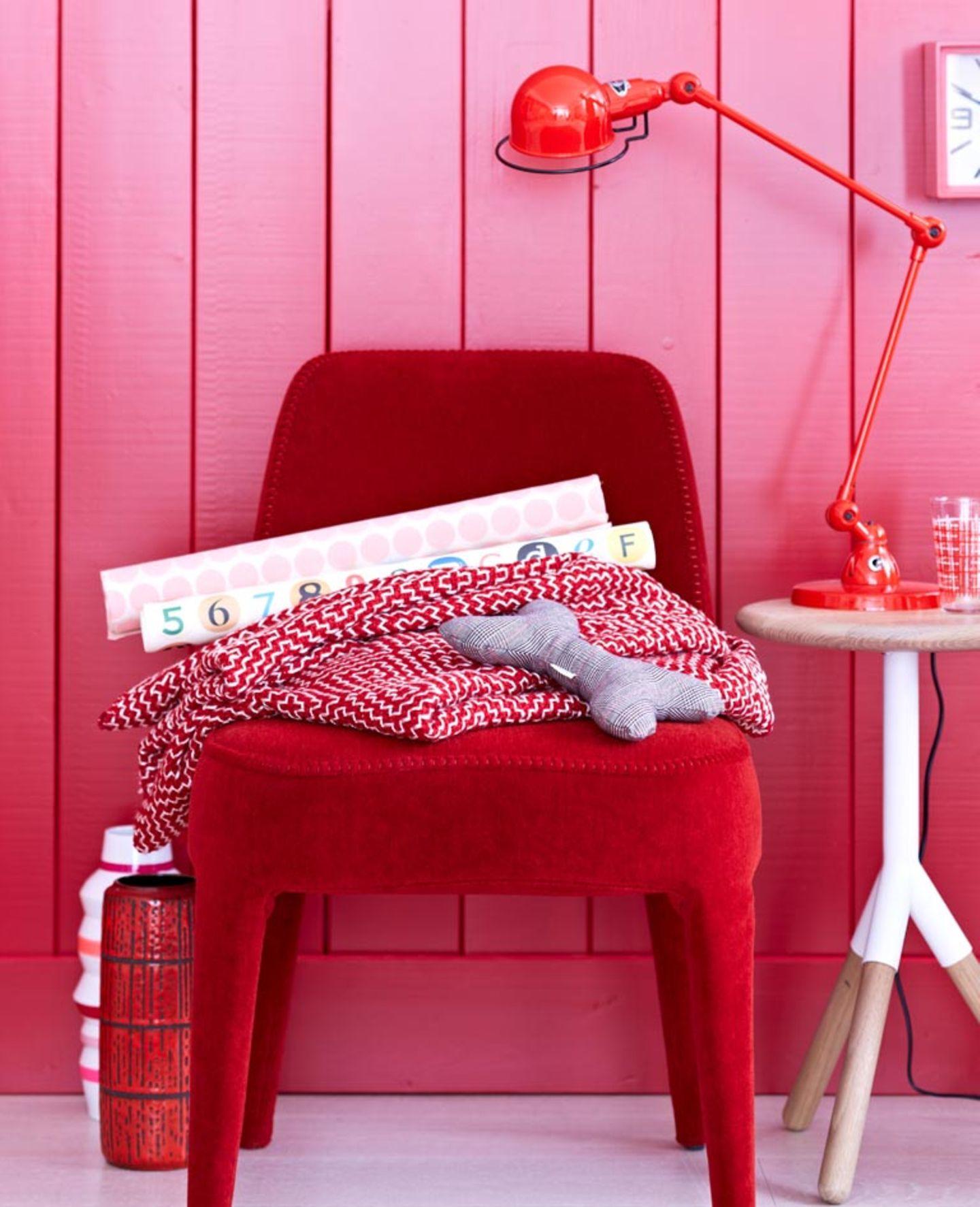 Energie! Pink und Rot
