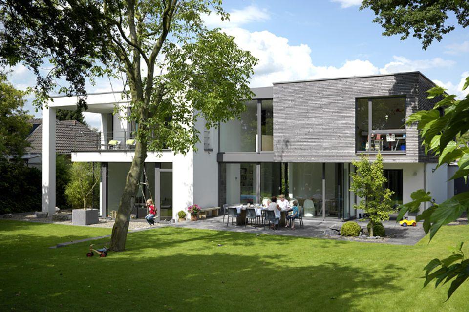 3. Platz: Einfamilienhaus aus zwei Quadern
