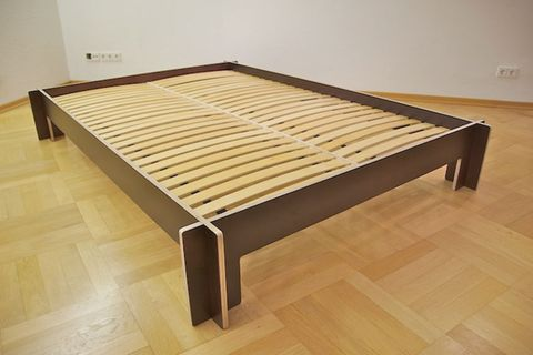 """""""Simple Bed"""" - ein Bett zum Stecken"""